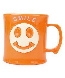 Smile Print Cup Orange - 330 ml