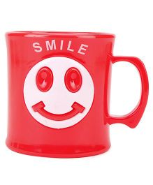 Smile Print Cup Red - 330 ml