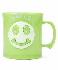 Smile Print Cup Green - 330 ml