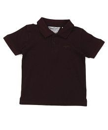 Parrot Crow Classic Polo T-Shirt - Brown
