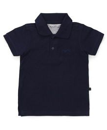 Parrot Crow Classic Polo T-Shirt - Navy Blue