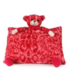 Deals India Teddy Pillow - Red