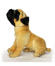 Deals India Pug Puppy Soft Toy Brown - 36 cm