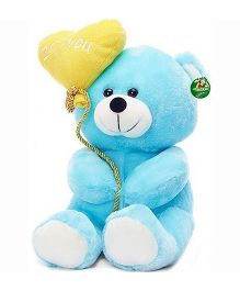 Deals India Teddy Bear Soft Toy Blue - 20 cm