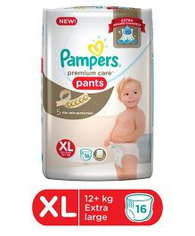 Pampers Premium Care Pant Style Diapers Extra Large - 16 Pieces