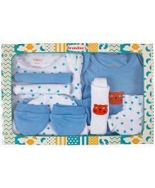 Grandma's Clothing Gift Set Box Pack of 10 - Blue