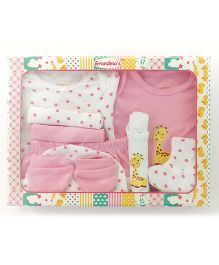 Grandma's Clothing Gift Set Box Pack of 10 - Pink