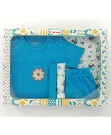 Grandma's Clothing Gift Set Box Pack of 5 - Turquoise Blue