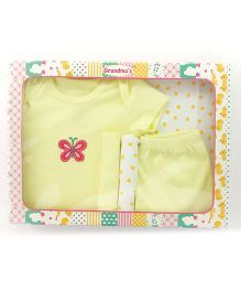 Grandma's Clothing Gift Set Box Pack of 5 - Yellow