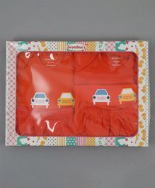 Grandma's Clothing Gift Set Box Pack of 5 - Orange