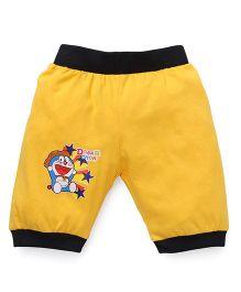Red Ring Capri Doraemon Patch - Yellow & Black