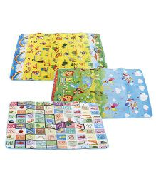 Multi Print Baby Play Mat - 1 Piece (Print & Color May Vary)