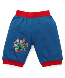 Red Ring Capri Ben 10 Patch - Blue & Red
