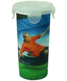 Ramson Football Print Tumbler with Lid