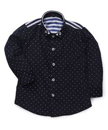 Robo Fry Full Sleeves Shirt Allover Print - Dark Blue
