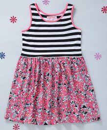 CrayonFlakes Floral Print Dress - Multicolor