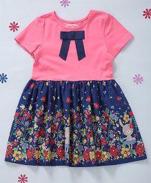 CrayonFlakes Printed Dress - Pink