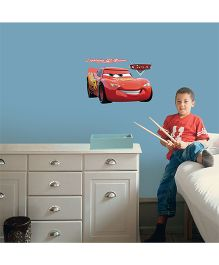 Decofun Cars Wall Sticker Large - Red
