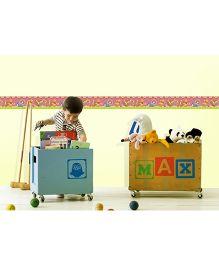Decofun Pooh & Friends Border Wall Sticker - Multi Color