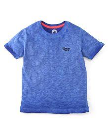Vitamins Half Sleeves T-Shirt - Blue