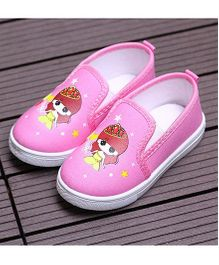Alle Alle Smart Slip On Casual Shoes - Pink