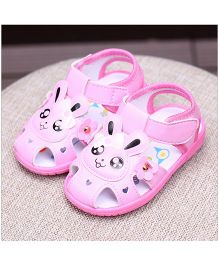 Alle Alle Musical Sandals Rabbit Patch  - Light Pink