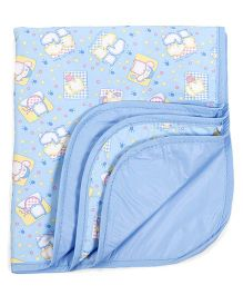 1st Step Baby Diaper Changing Mat - Sky Blue