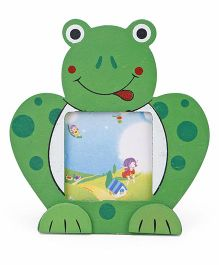 Frog Shape Photo Frame - Green