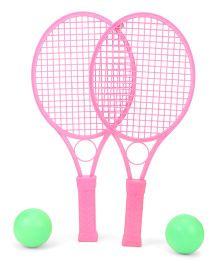 Mansaji Racket Set - Pink Green