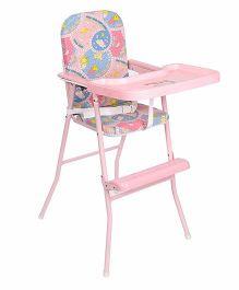 New Natraj High Chair Animal & Train Print 040 - Pink