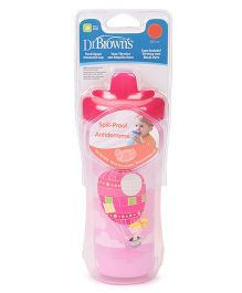 Dr. Brown's Hard Spout Insulated Cup Stage 3 Pink - 300 ml
