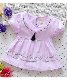 Superfie Casual Summer Dress - Purple