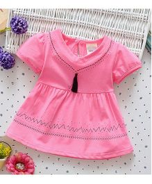 Superfie Casual Summer Dress - Pink
