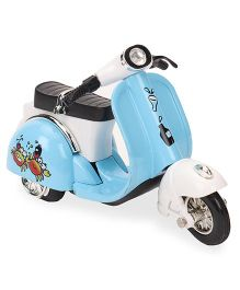 Smiles Creation Die Cast Scooter Toy - Blue And White