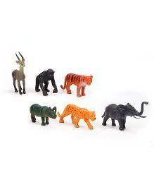 Smiles Creation Wild Animal Figures - Set Of 6