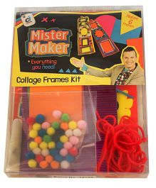 Mister Maker Collage Frames Kit - Multicolor
