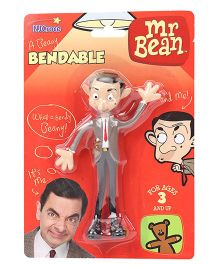 Mr Bean Bendable Action Figure Grey - 13 cm
