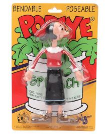 Popeye Olive Bendable Action Figure Red - 18 cm