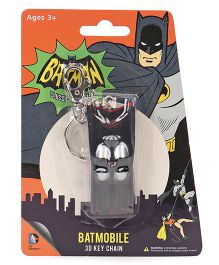 DC Comics Batmobile 3D Key Chain - Grey
