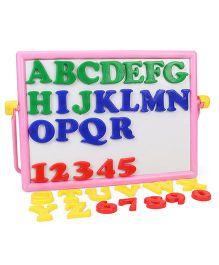 Mansaji Alpha Numero Board - Pink