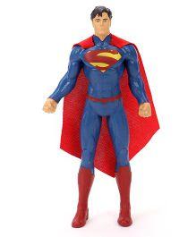 DC Comics Justice League Superman Bendable Figure Blue Red - 20 cm