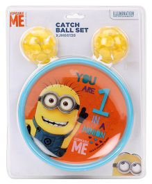 Minions Catch Ball Set - Blue Yellow