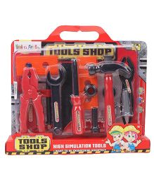 Kids Tools Kit - Black & Red