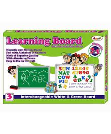 Annie 3 In 1 Magnetic Learning Board - Multicolor