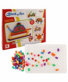 Annie Block Art Multicolor - 140 Pieces