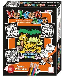 Annie Velvet Art Kit - Multicolor