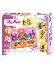 Annie Peg Mosaic Kit - Multicolor