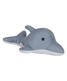 Ultra Dolphin Plush Soft Toy Grey & White - 30 cm