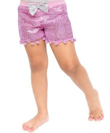 D'chica Disco Love Sequined Shorts - Pink