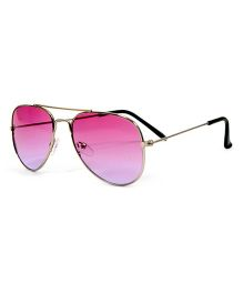 Mauve Collection Dual Tone Aviator - Pink